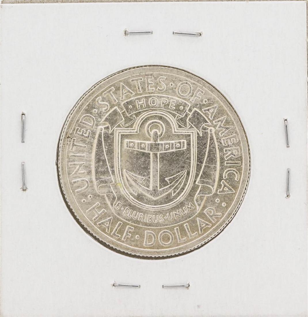 1936 Rhode Island Tercentenary Commemorative Half - 2