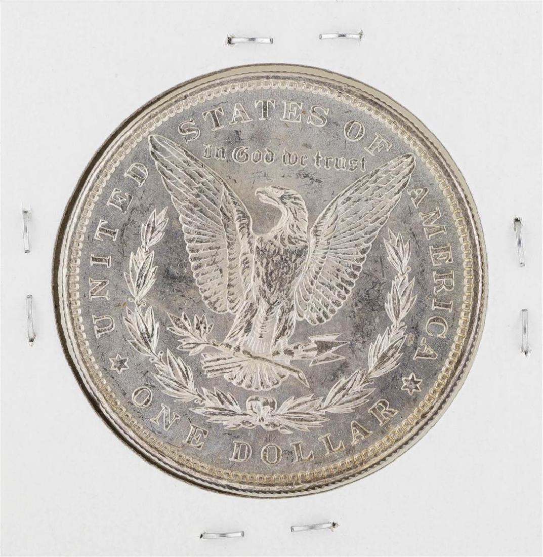 1898 $1 Morgan Silver Dollar Coin - 2
