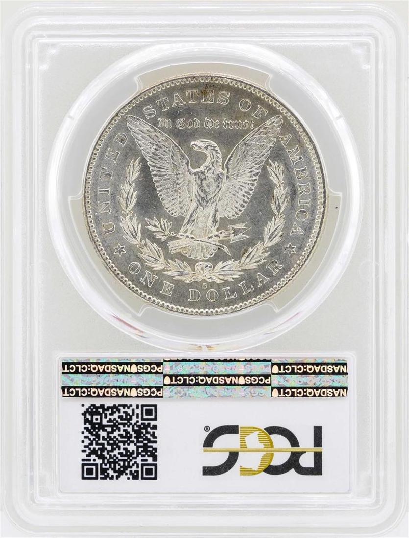1878-S $1 Morgan Silver Dollar Coin PCGS MS62 - 2