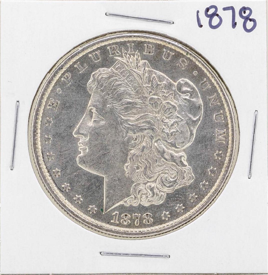 1878 8TF $1 Morgan Silver Dollar Coin