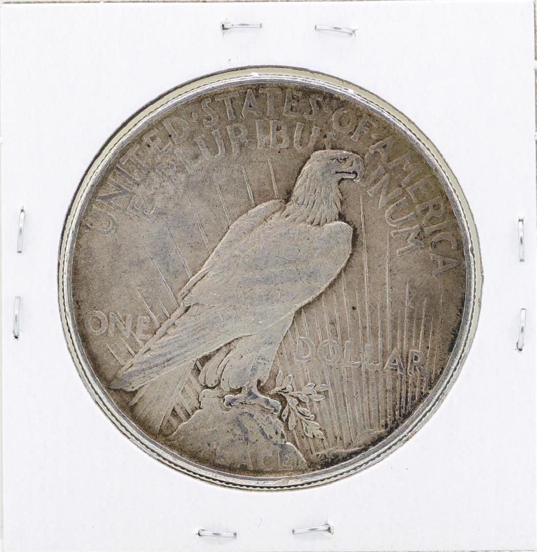 1922 $1 Peace Silver Dollar Coin - 2