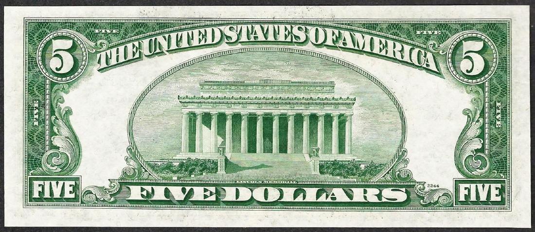 1953 $5 Silver Certificate STAR Note - 2