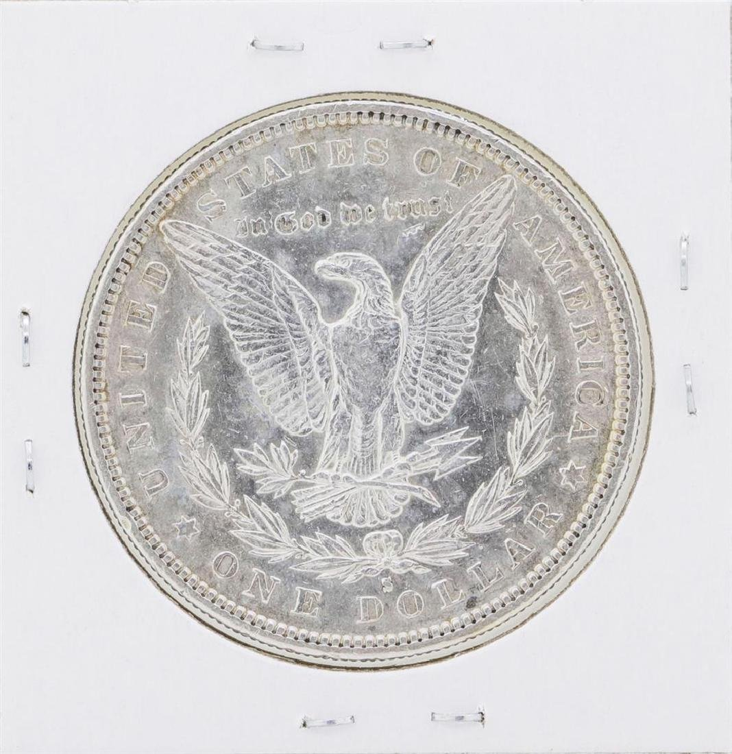 1886-S $1 Morgan Silver Dollar Coin - 2