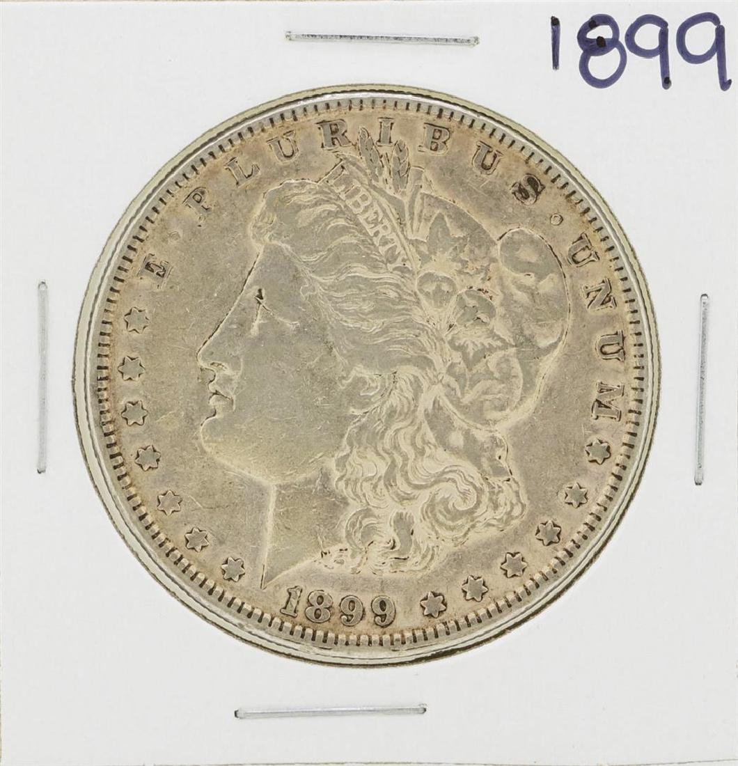 1899 $1 Morgan Silver Dollar Coin