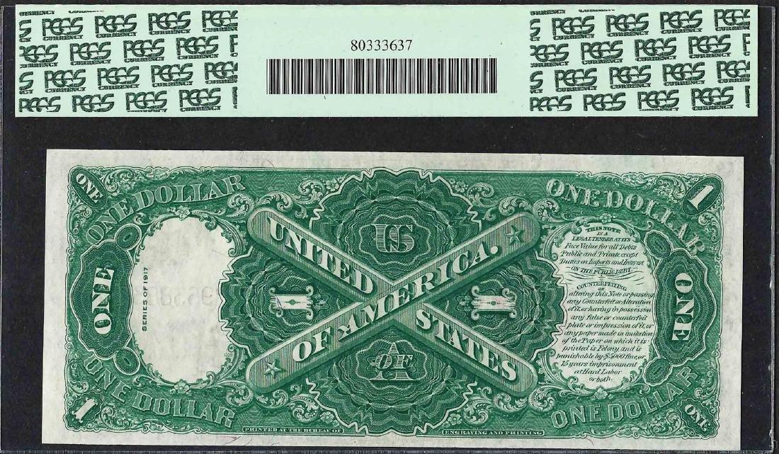 1917 $1 Legal Tender Note Fr.37 PCGS Gem New 65PPQ - 2