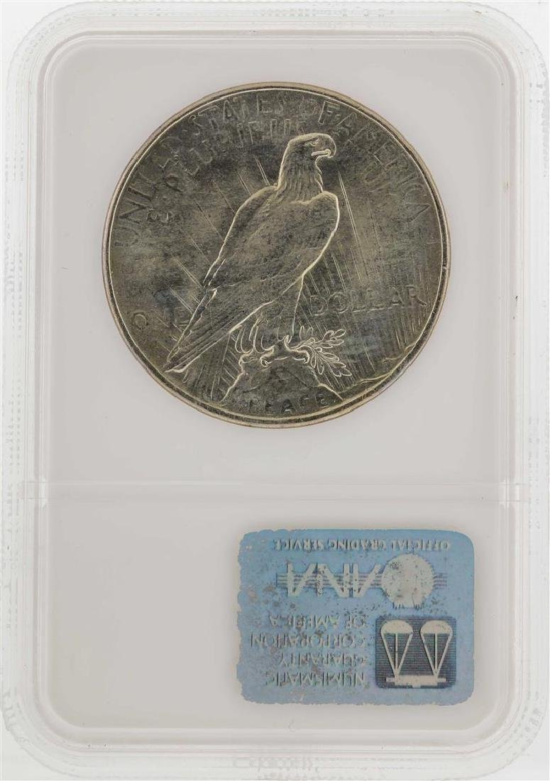 1925 $1 Peace Silver Dollar Coin NGC MS65 - 2