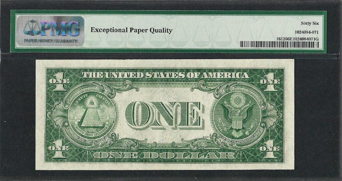 1935C $1 Silver Certificate Note Fr.1612 PMG Gem - 2