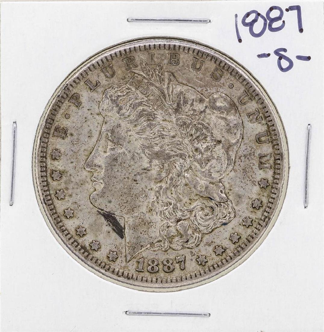 1887-S $1 Morgan Silver Dollar Coin
