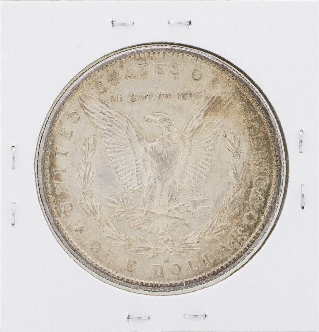 1890-S $1 Morgan Silver Dollar Coin - 2