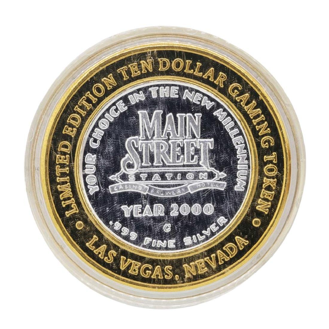 .999 Silver Main Street Station Las Vegas, NV $10 - 2