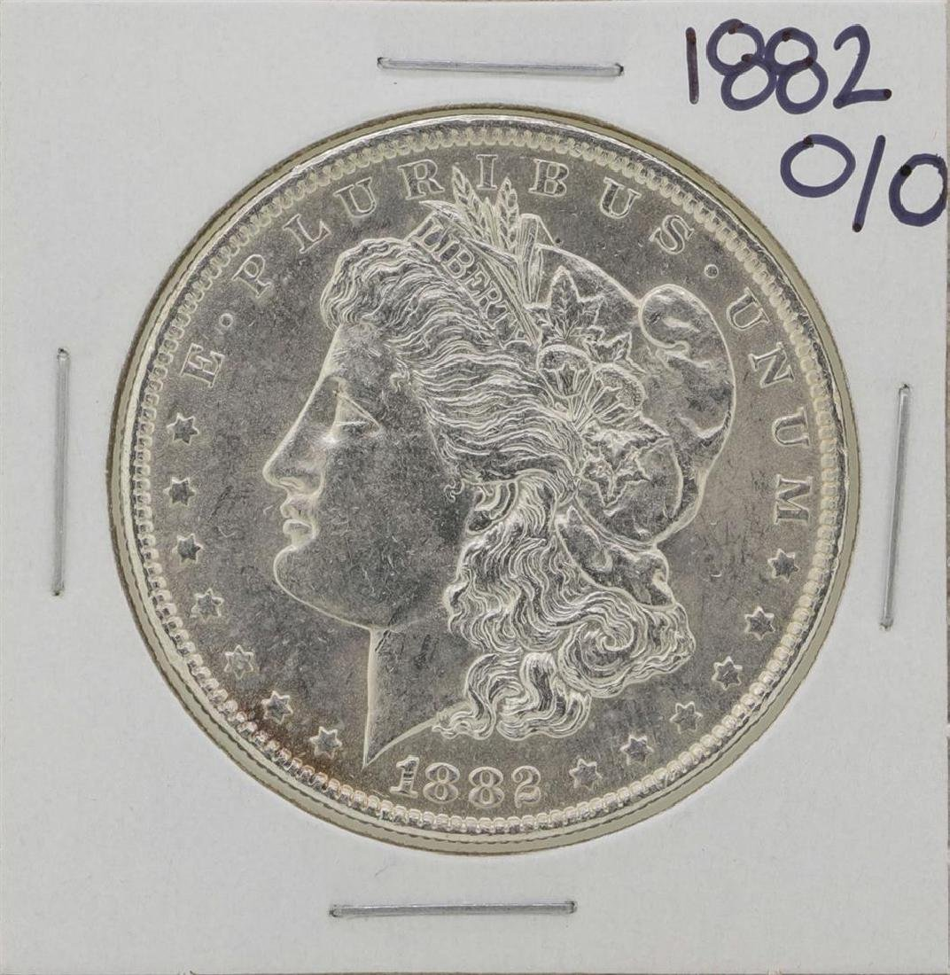 1882-O/O $1 Morgan Silver Dollar Coin