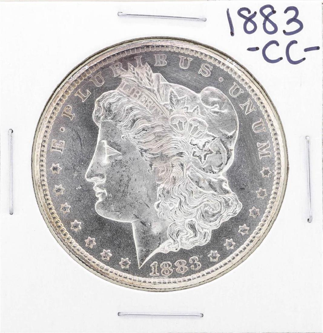 1883-CC $1 Morgan Silver Dollar Coin