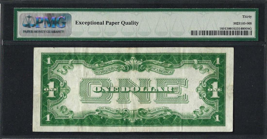 1928A $1 Funnyback Silver Certificate Note Fr.1601 PMG - 2