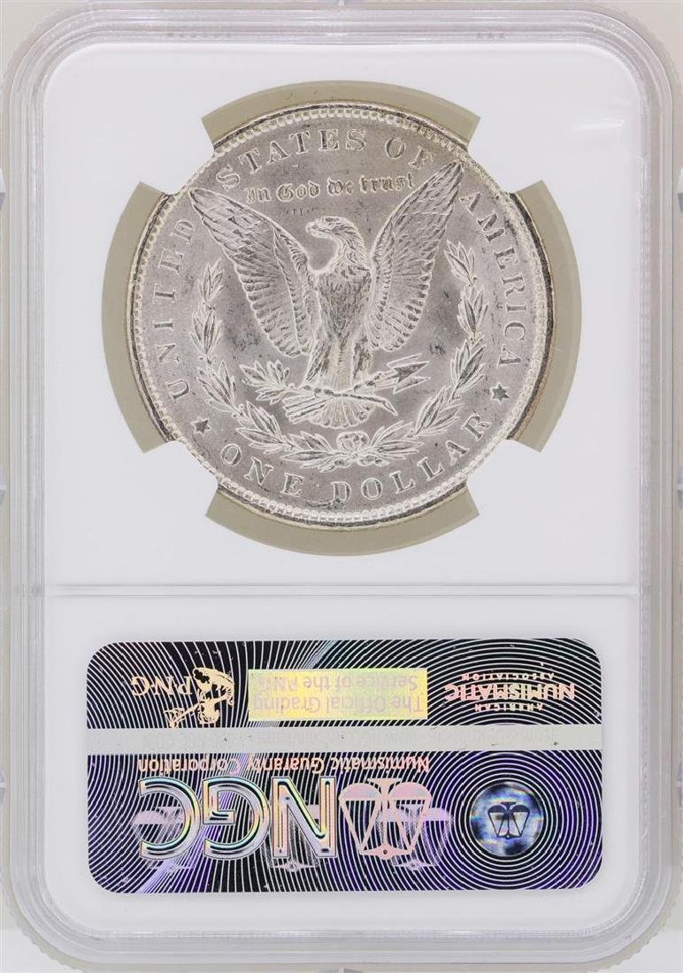1890 $1 Morgan Silver Dollar Coin NGC MS63 - 2