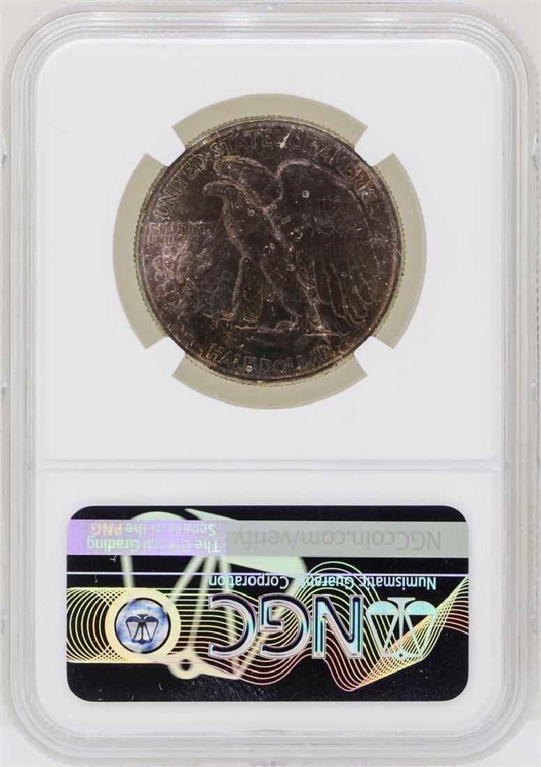 1942 Walking Liberty Half Dollar Coin NGC MS64 - 2