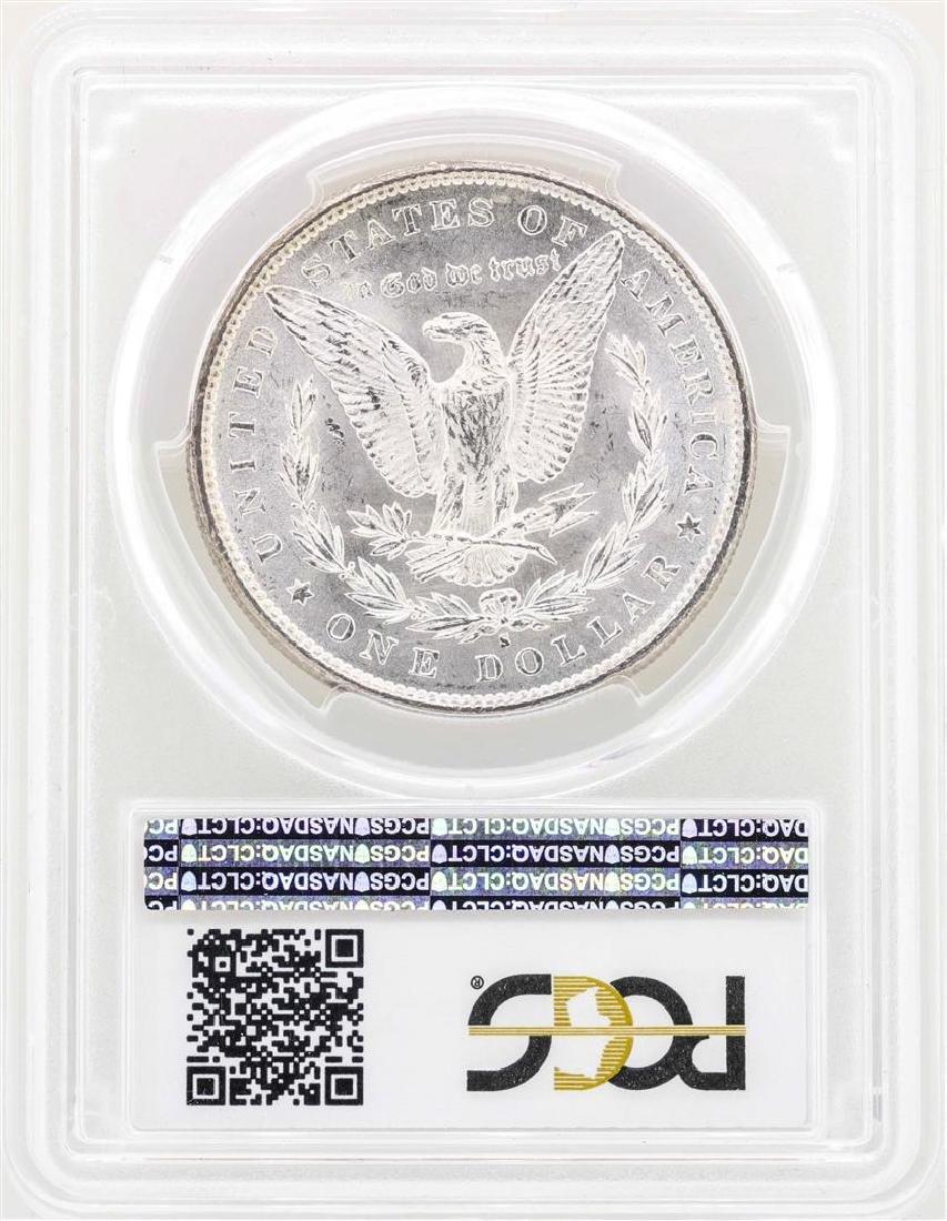 1879-S $1 Morgan Silver Dollar Coin PCGS MS63 - 2