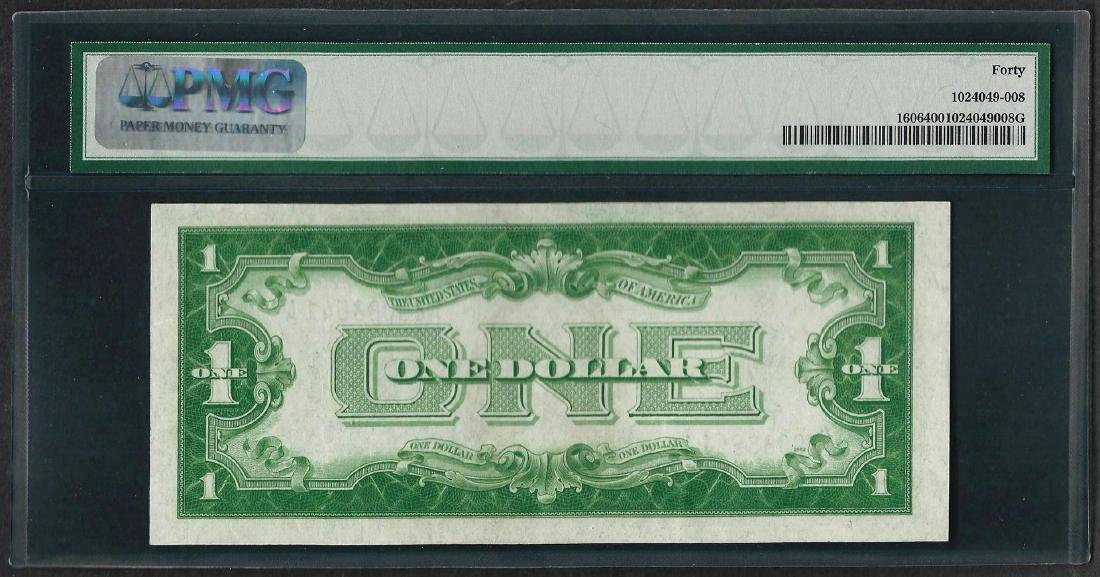 1934 $1 Funnyback Silver Certificate Note Fr.1606 PMG - 2