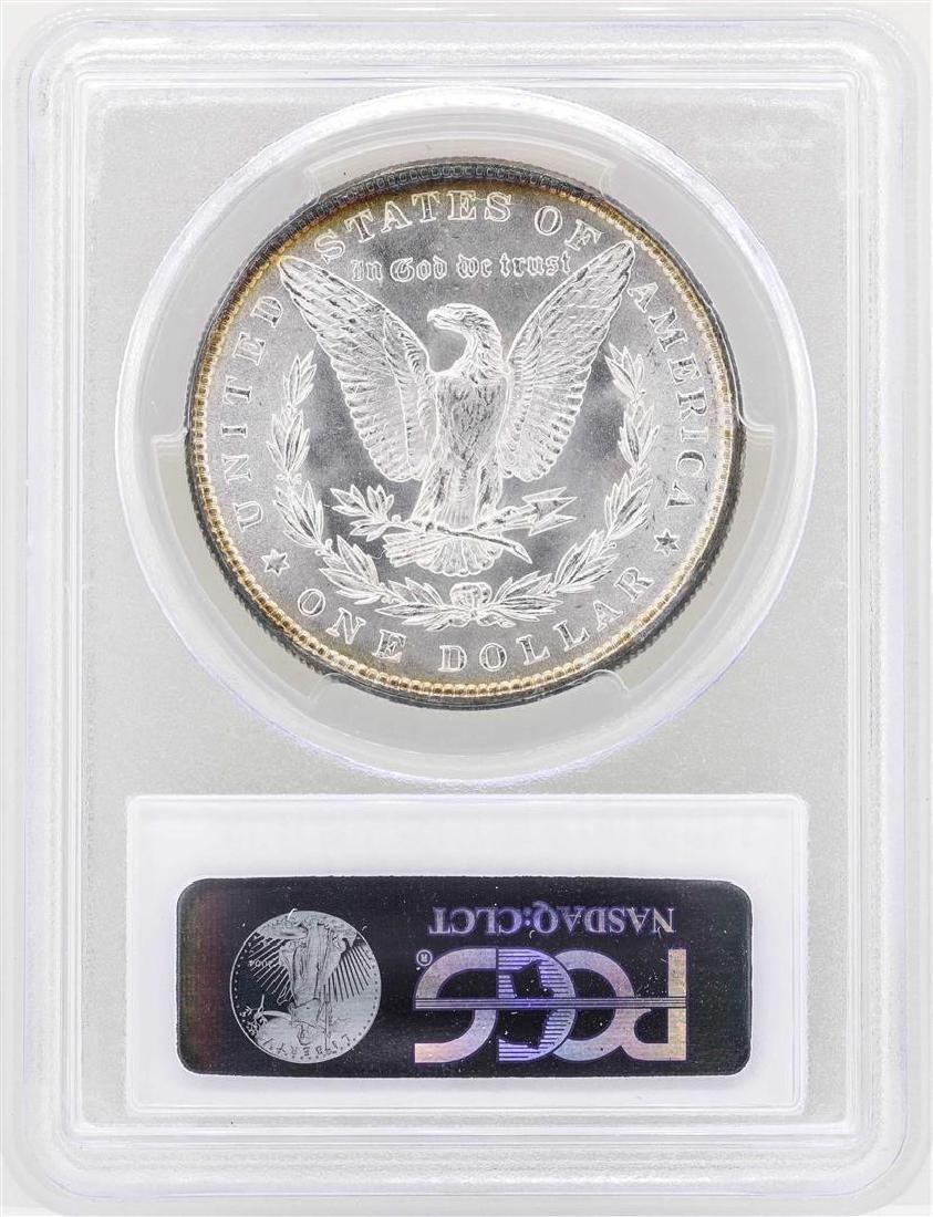 1884 $1 Morgan Silver Dollar Coin PCGS MS63 - 2