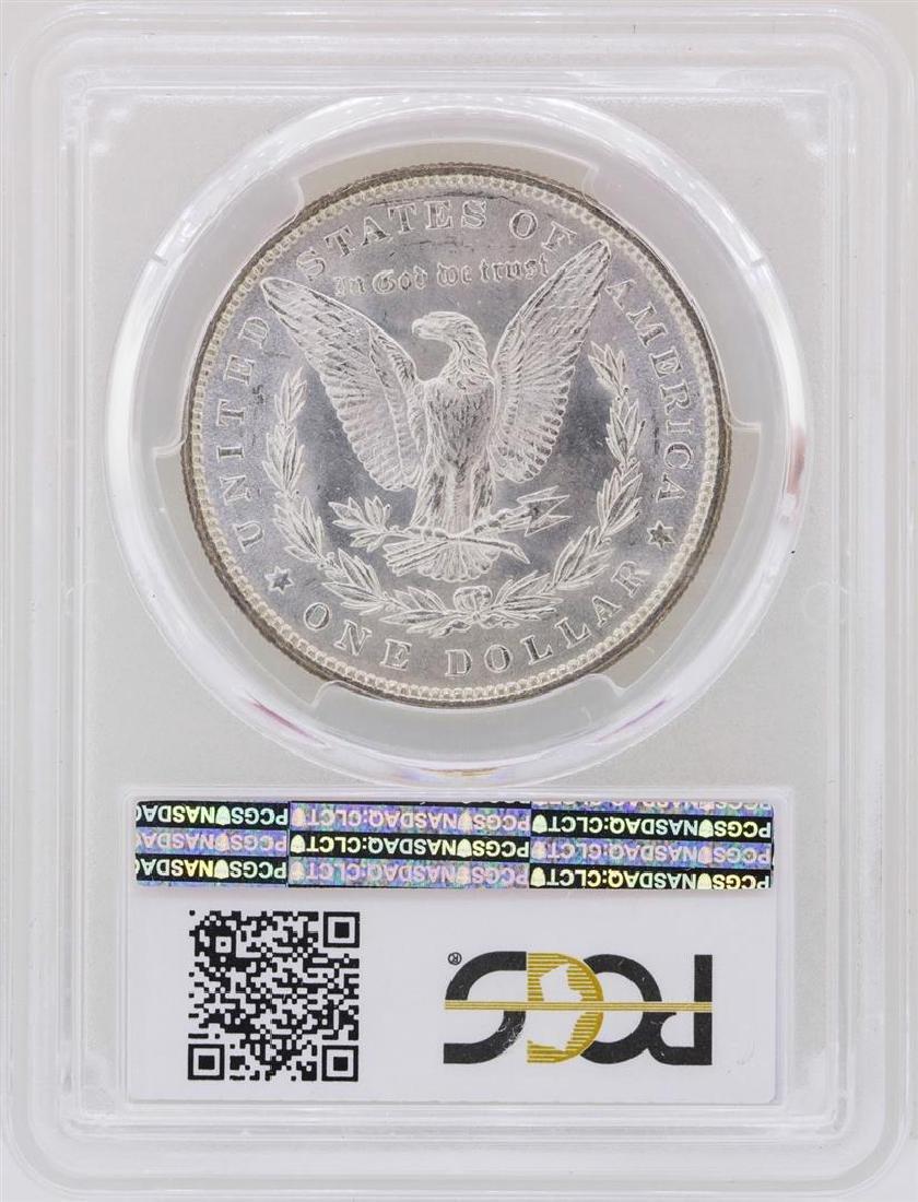 1879 $1 Morgan Silver Dollar Coin PCGS MS63 - 2
