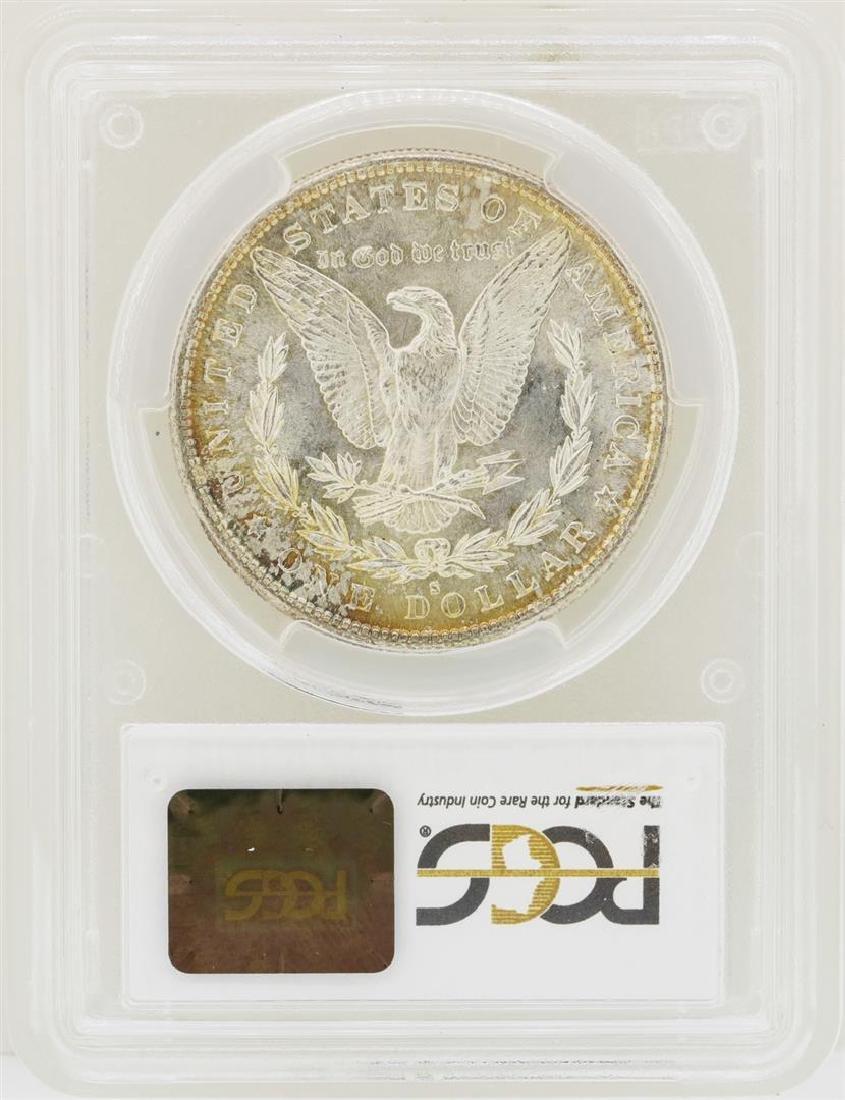 1882-S $1 Morgan Silver Dollar Coin PCGS MS65 - 2