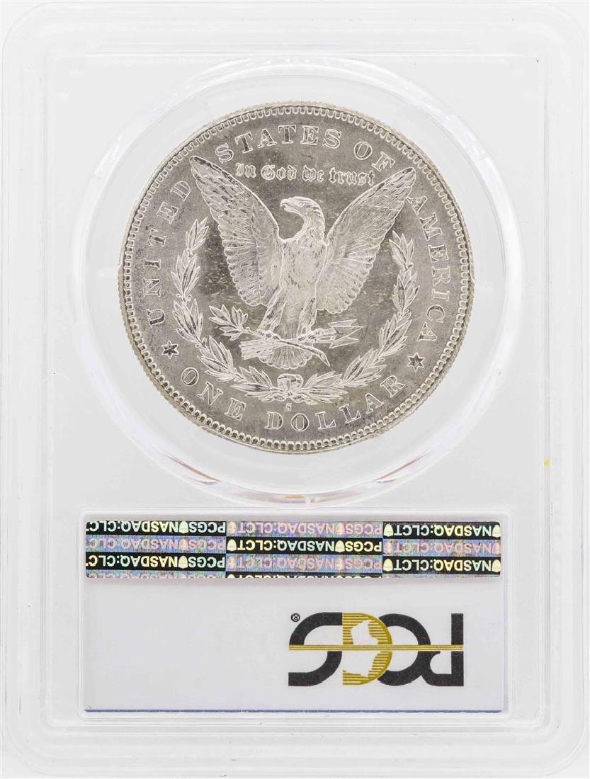 1878-S $1 Morgan Silver Dollar Coin PCGS MS63 - 2