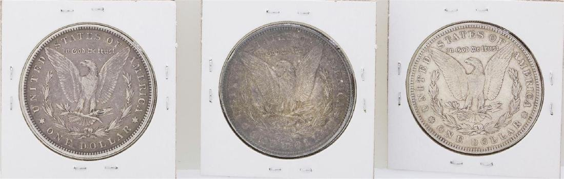 Lot of 1882, 1886, & 1900 $1 Morgan Silver Dollar Coins - 2