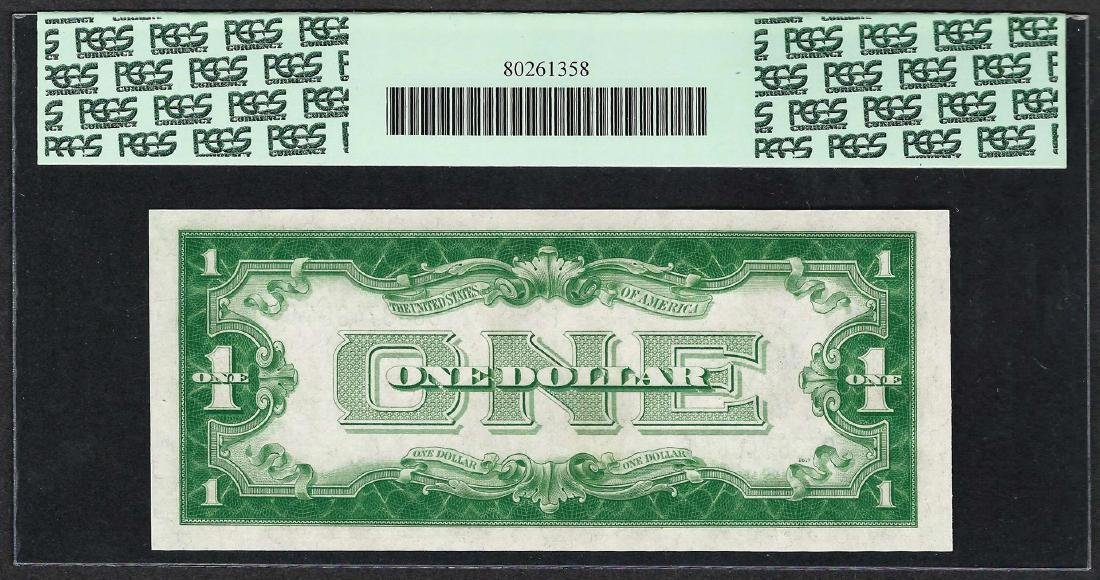 1928B $1 Funnyback Silver Certificate Note Fr.1602 PCGS - 2