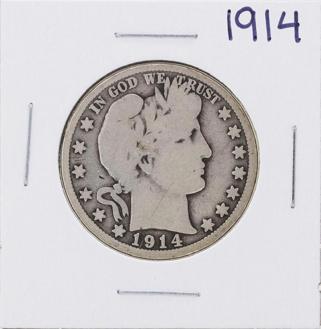 1914 Barber Half Dollar Coin