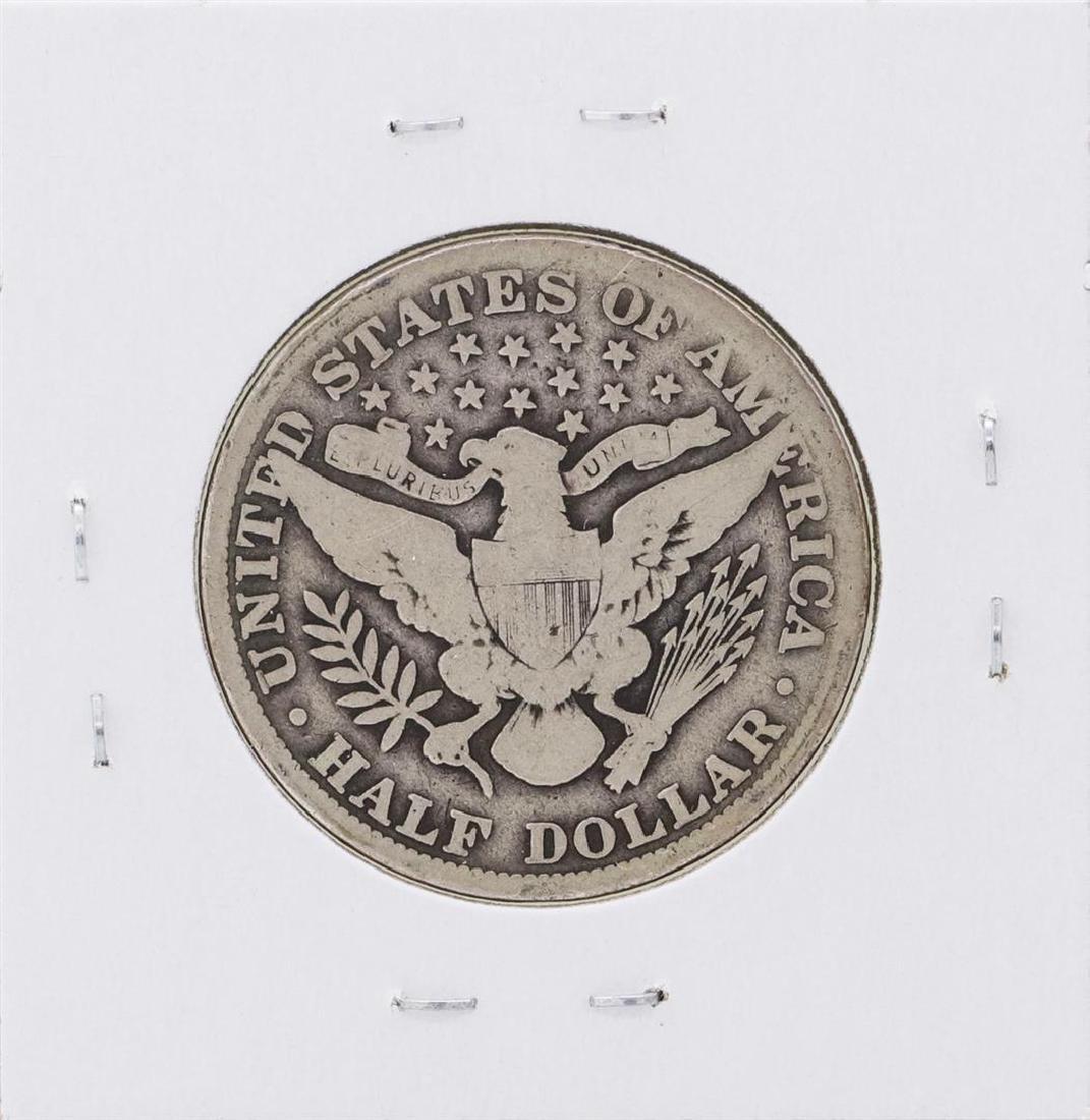 1914 Barber Half Dollar Coin - 2