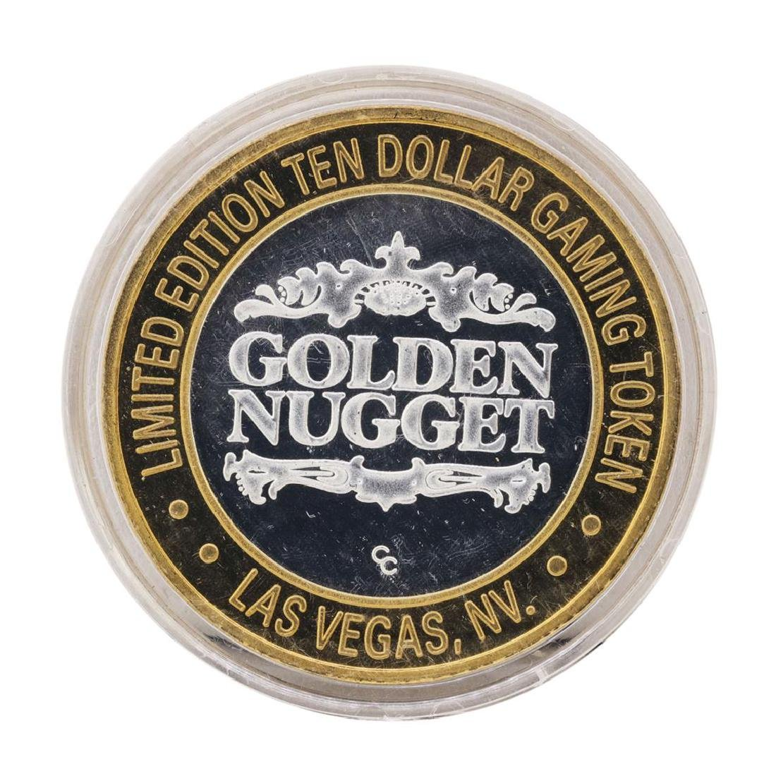 .999 Silver Golden Nugget Las Vegas, Nevada $10 Casino
