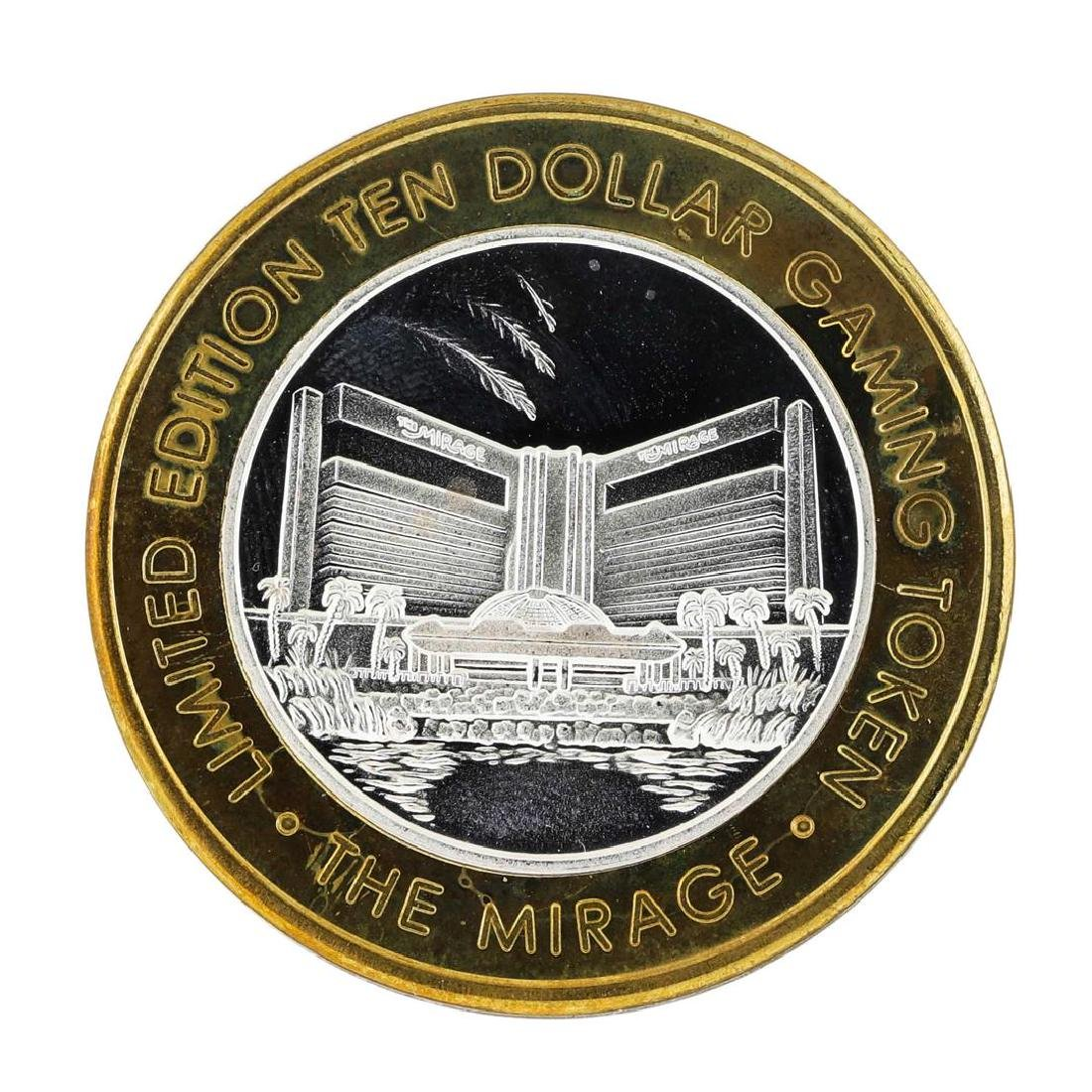 .999 Silver The Mirage Las Vegas, Nevada $10 Casino - 2