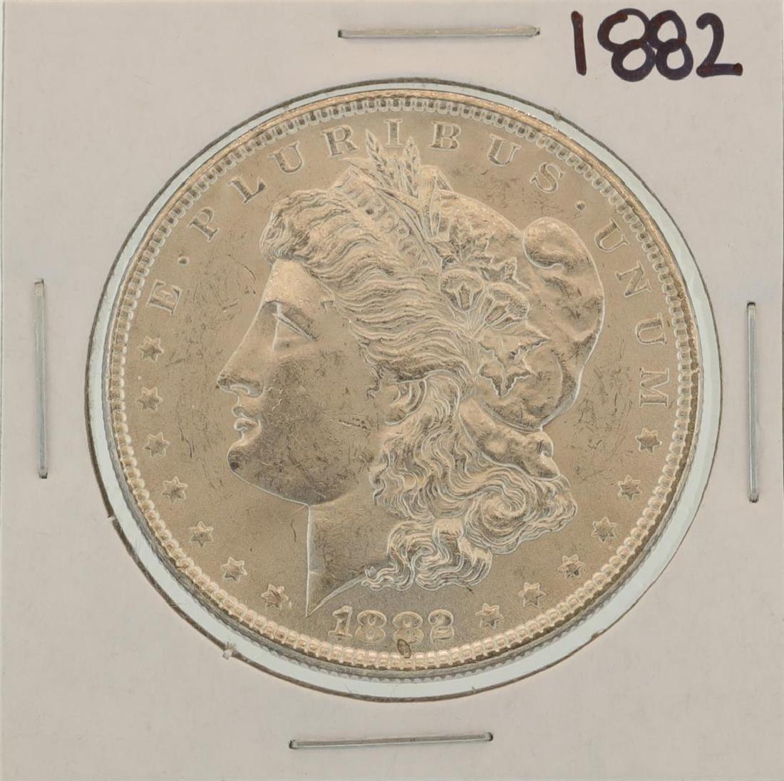 1882 $1 Morgan Silver Dollar Coin