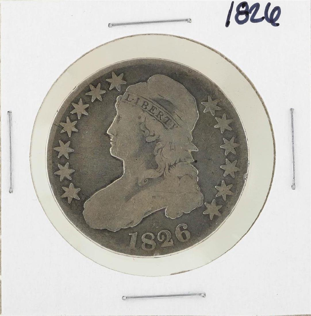 1826 Capped Bust Half Dollar Coin