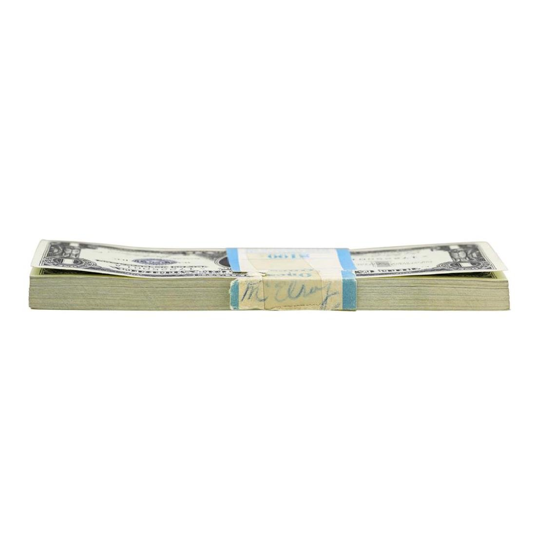 Pack of (100) Consecutive 1957 $1 Silver Certificate - 3