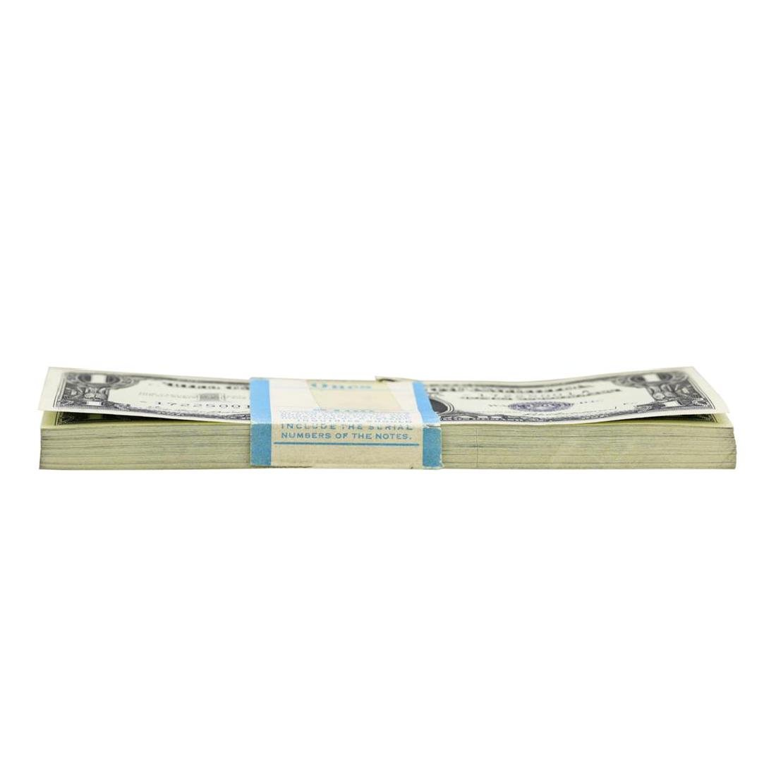 Pack of (100) Consecutive 1957 $1 Silver Certificate - 4