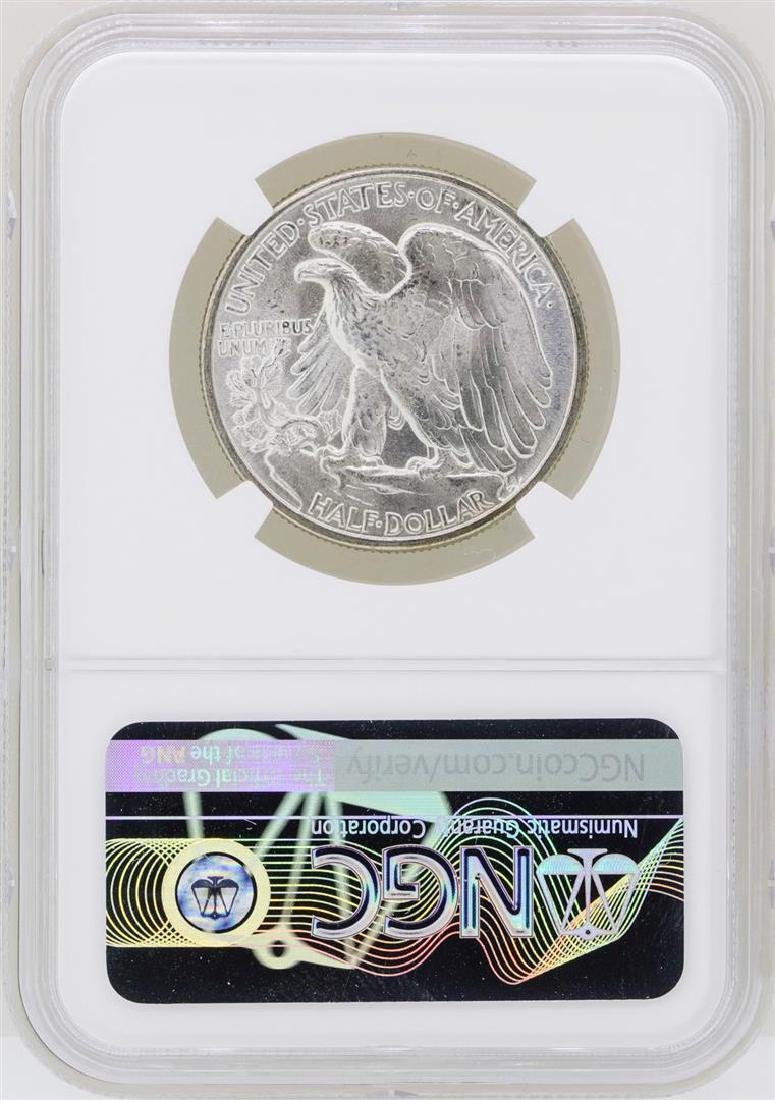 1943 Walking Liberty Half Dollar Coin NGC MS65 - 2
