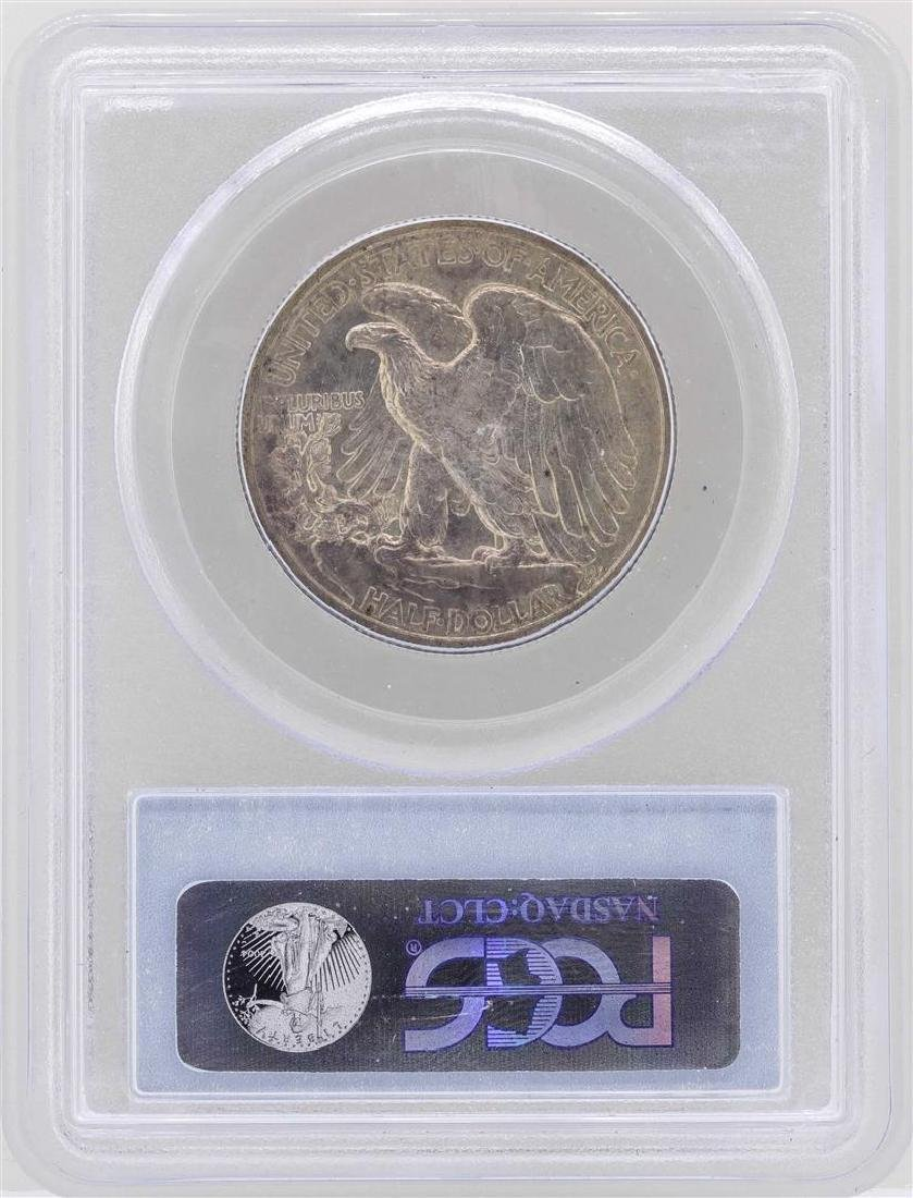 1917 Walking Liberty Half Dollar Coin PCGS MS64 - 2