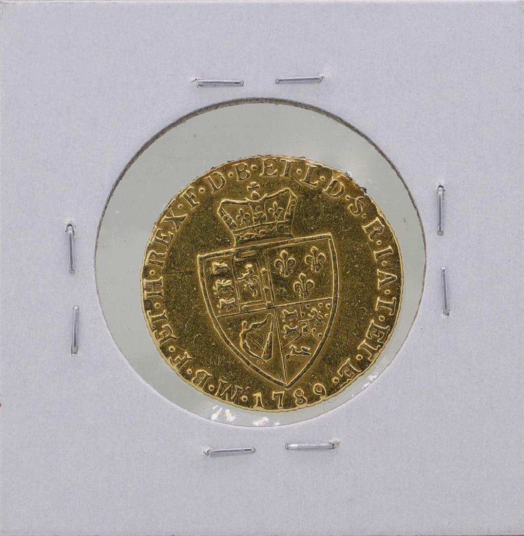 1789 Great Britain Guinea Gold Coin - 2