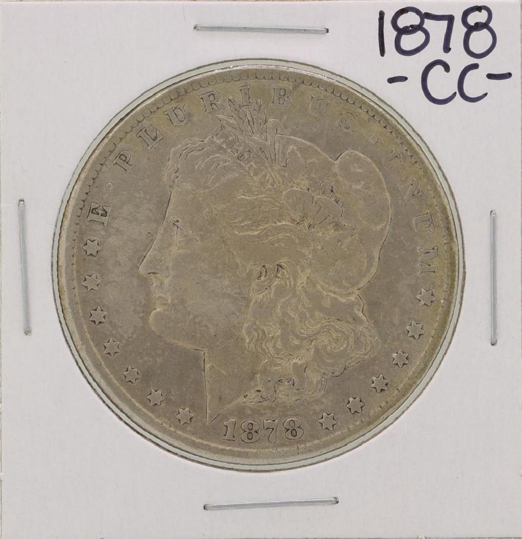 1878-CC $1 Morgan Silver Dollar Coin