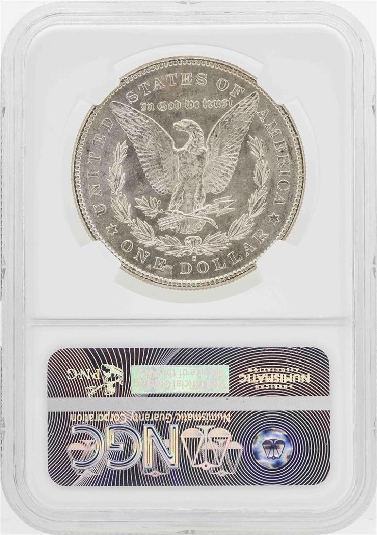 1878-S $1 Morgan Silver Dollar Coin NGC MS64 - 2