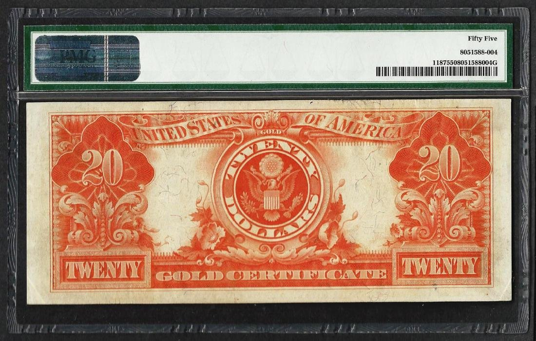 1922 $20 Gold Certificate Note Fr.1187 PMG About - 2