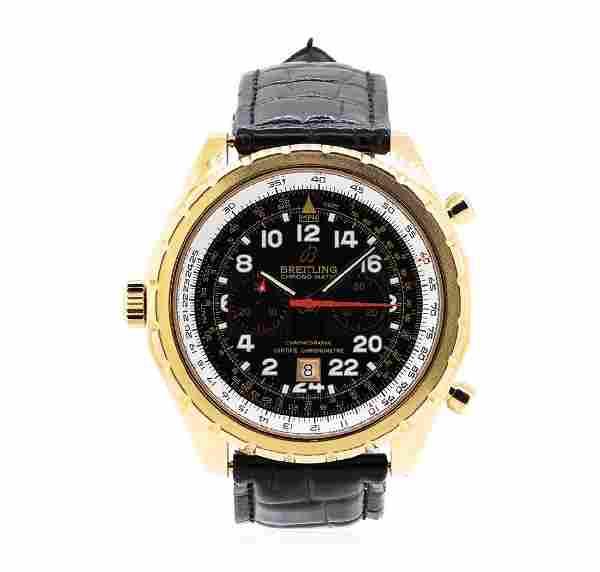 18KT Rose Gold Men's Breitling Wristwatch