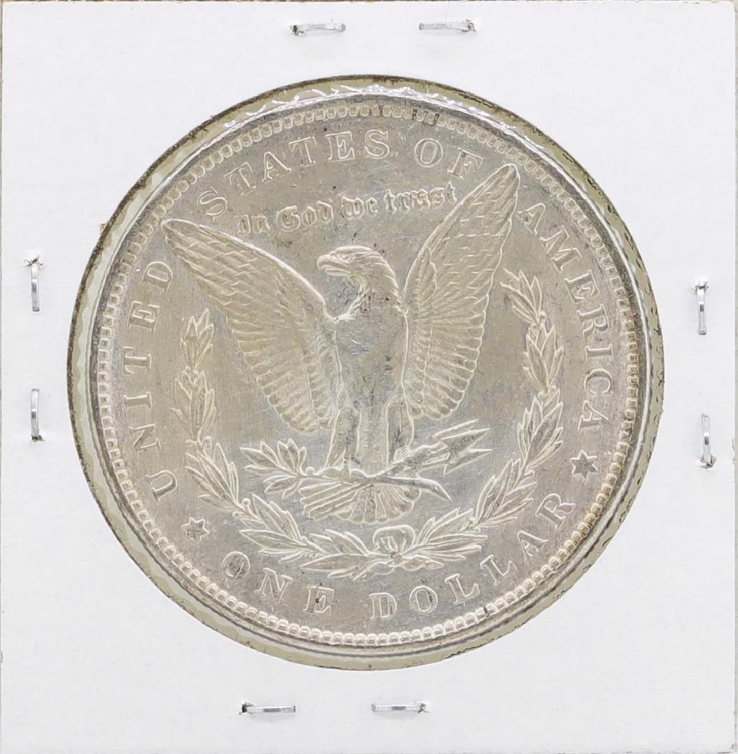 1890 $1 Morgan Silver Dollar Coin - 2