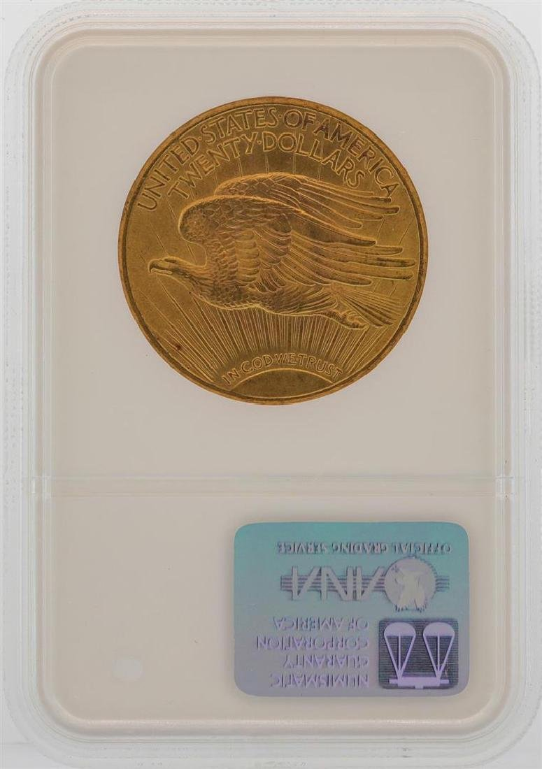 1915-S $20 St. Gaudens Double Eagle Gold Coin NGC MS64 - 2