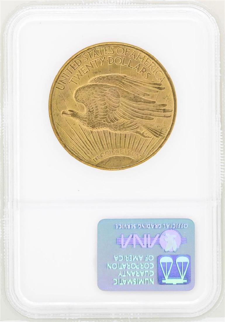 1924 $20 St. Gaudens Double Eagle Gold Coin NGC MS63 - 2