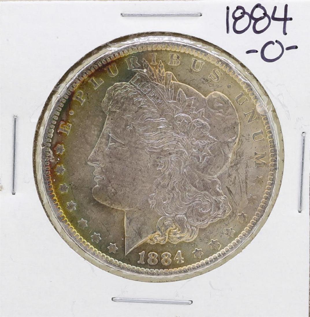 1884-O $1 Morgan Silver Dollar Coin Amazing Toning