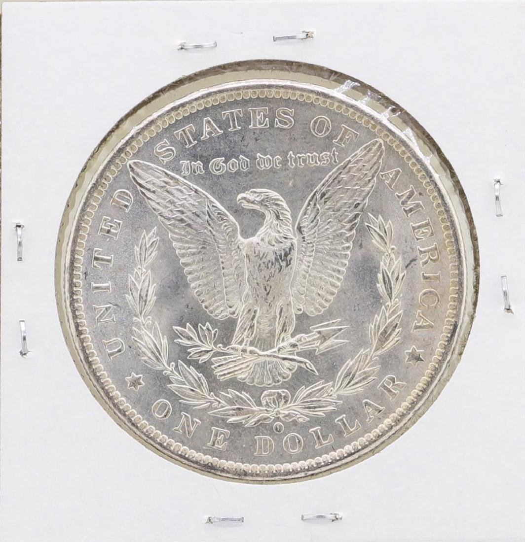 1884-O $1 Morgan Silver Dollar Coin Amazing Toning - 2