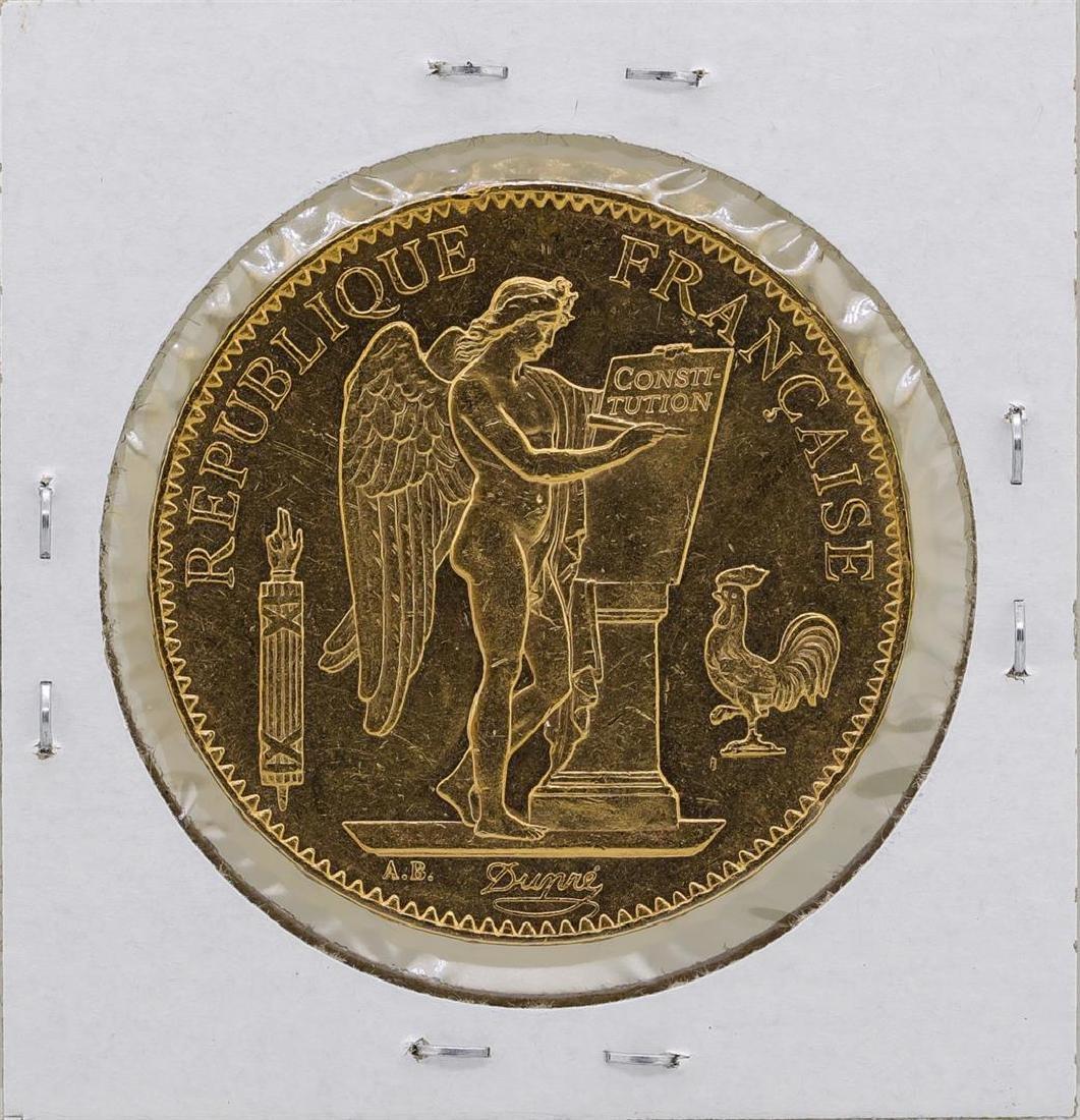 1879A France 100 Francs Gold Angel Coin