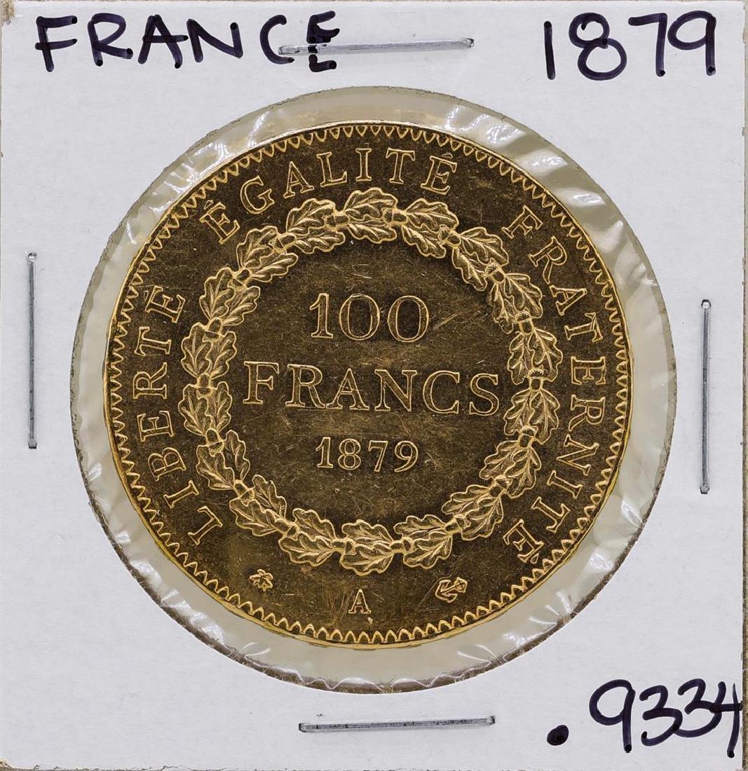 1879A France 100 Francs Gold Angel Coin - 2