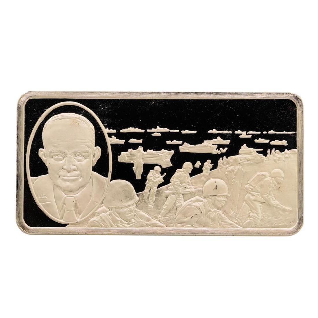 500 Grain Sterling Silver Franklin Mint 100 Greatest